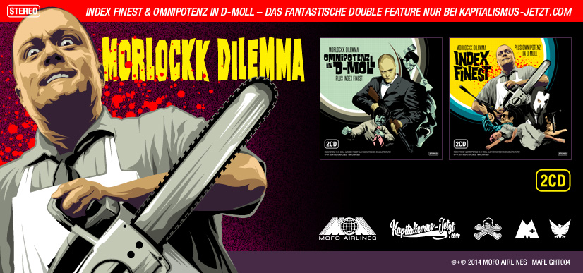 MORLOCKK DILEMMA – INDEX FINEST/OMNIPOTENZ IN D-MOLL